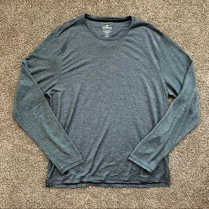 Bombas Merino Wool Crew Neck Long Sleeve T-Shirt